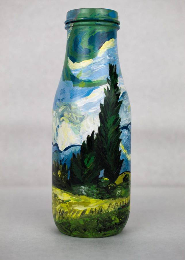 GALLERY: Students Create Art with Recycled Bottles