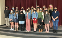 DHS Inducts New Members to NHS